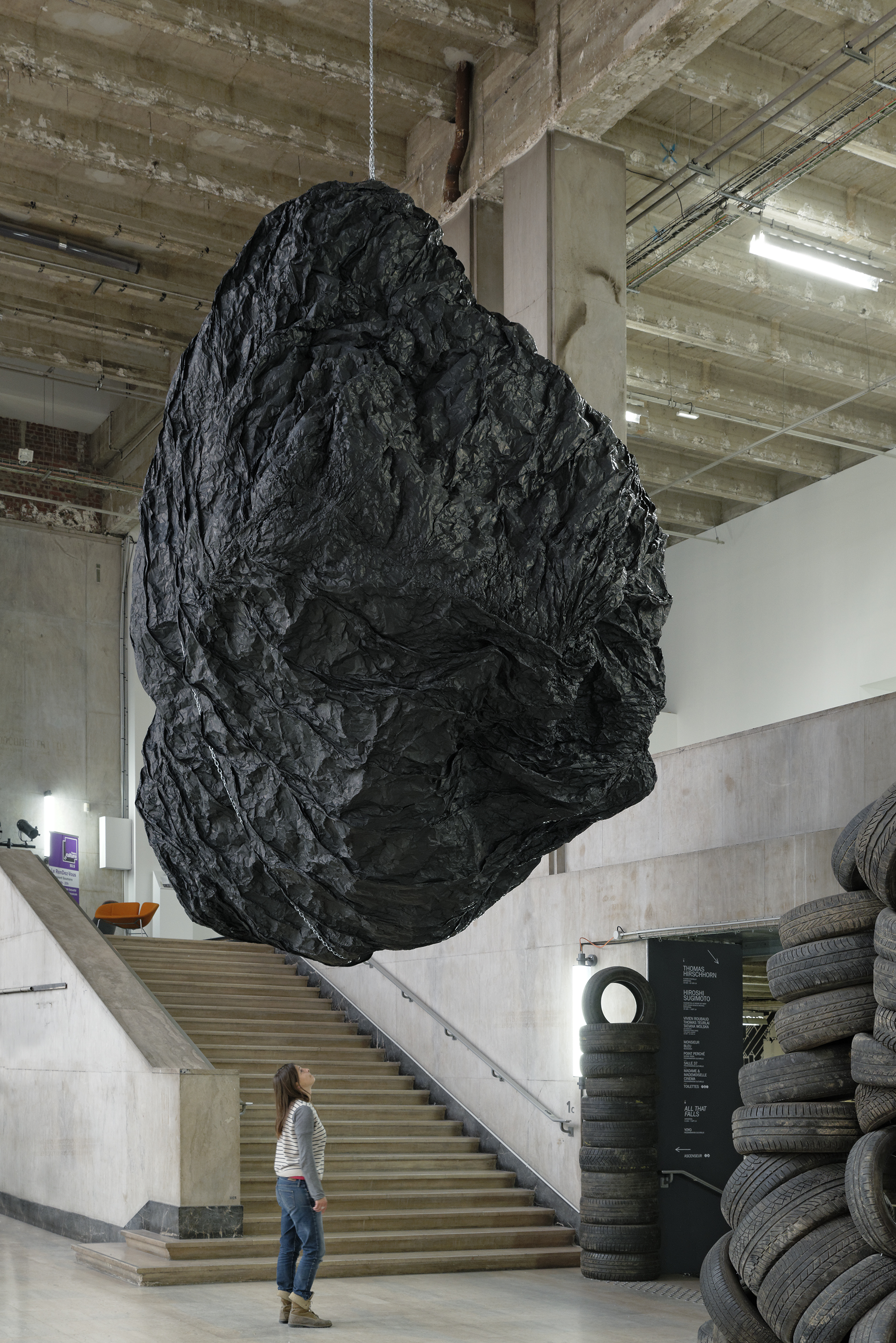 Teoria [Goliath's Head], 2014 ©Eduardo Basualdo