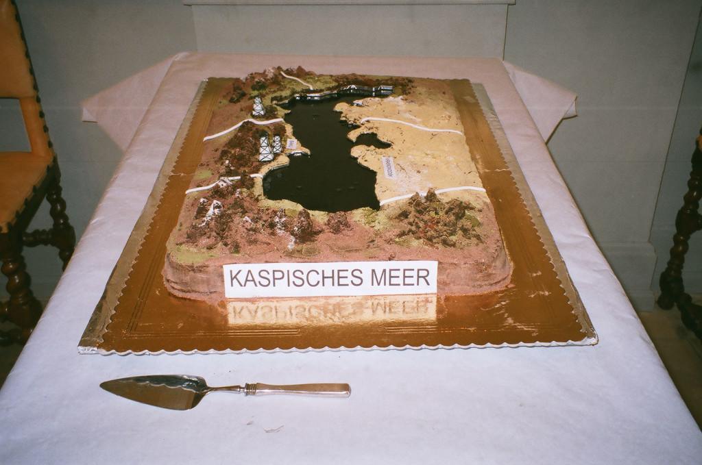 Caspian Sea, Uppsala, 2014. Cake.