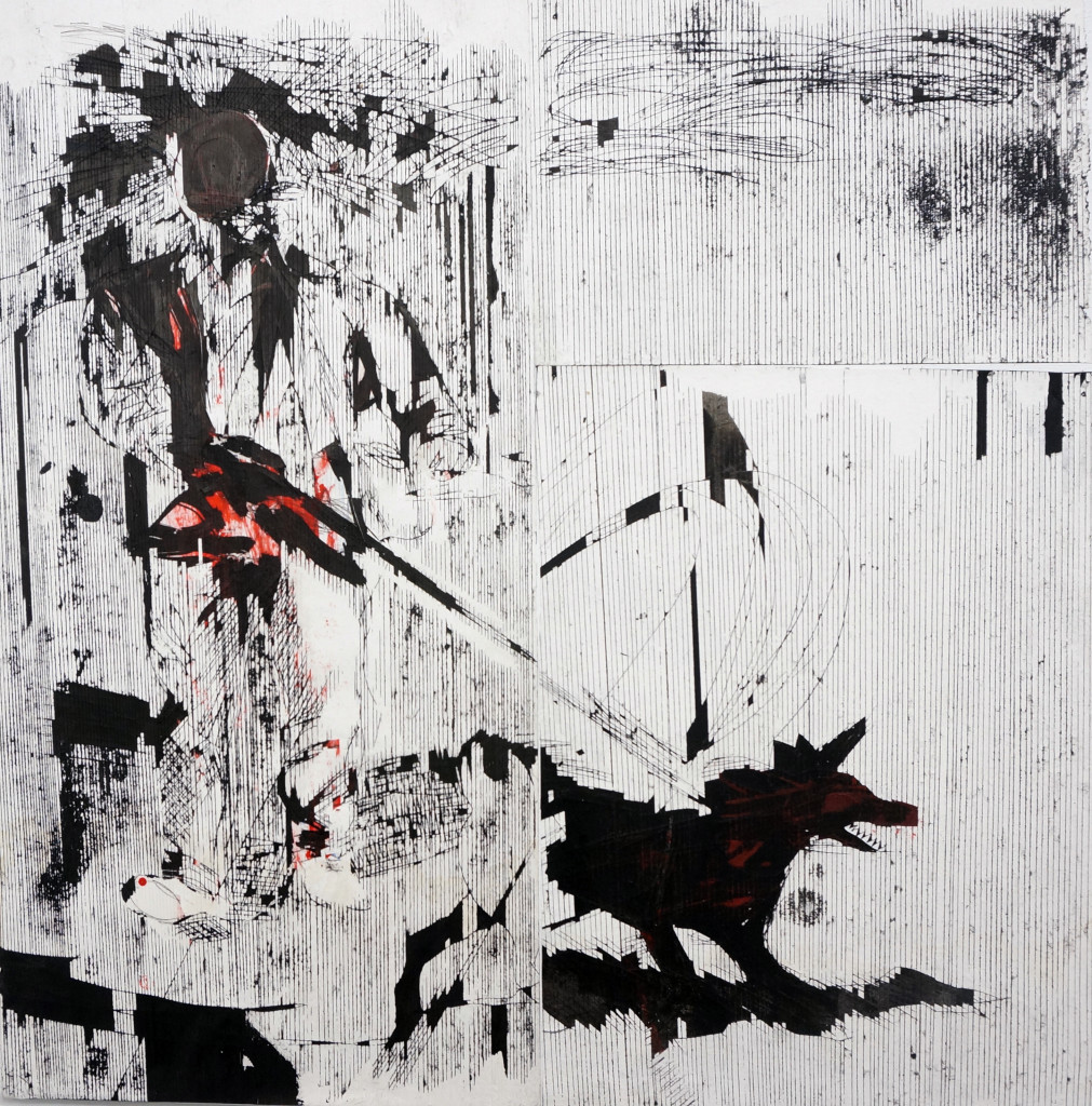 Gareth Nyandoro, Dog Walker, 2014