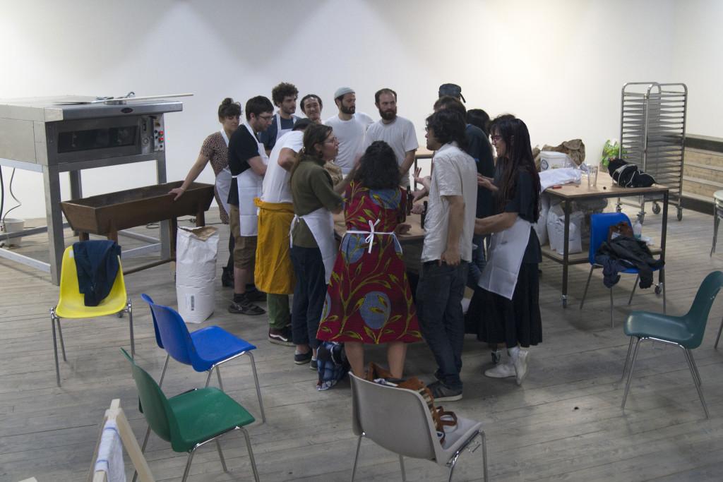 Julieta García Vazquez, Union des poètes et des boulangers, 2018.
