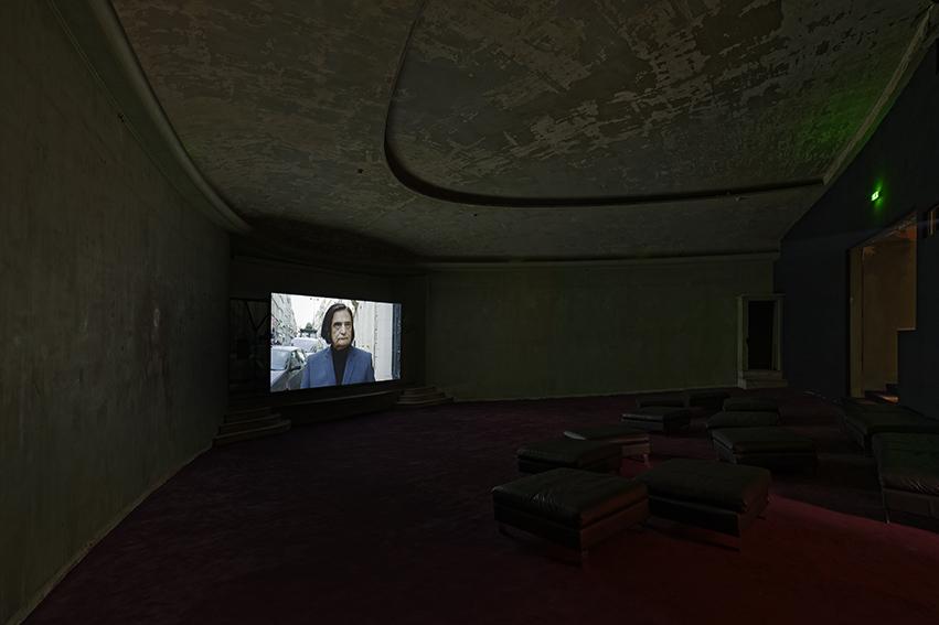 "Vue de l'exposition de Louidgi Beltrame ""El Brujo"", Palais de Tokyo."