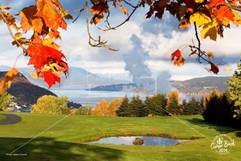 Bay of Islands from Blomidon Golf Course - by Corner Brook photographer Jason Dunne. Size: 14