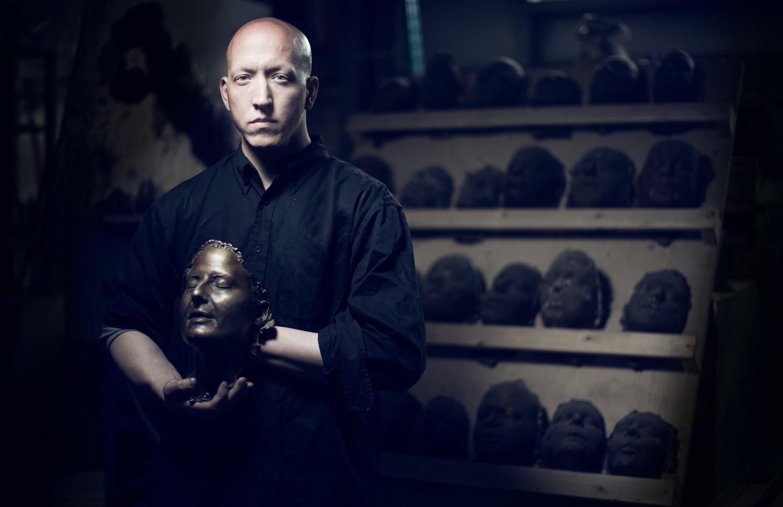 Sculptor Morgan MacDonald