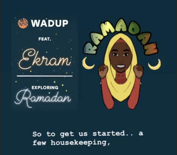Ekram's WADUP Feature, June 2019