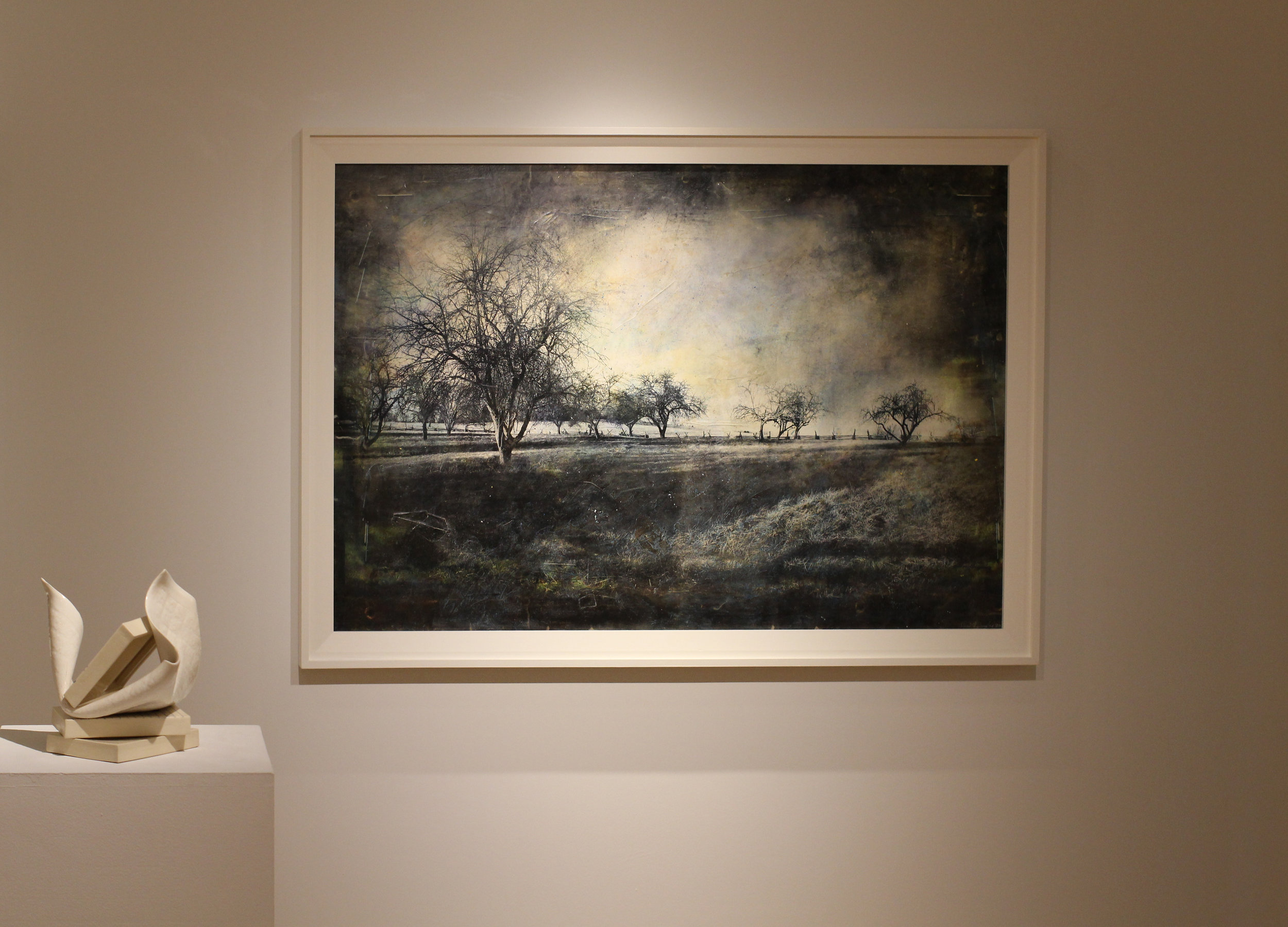 l andscape At New Market Battlefield  Angie Newman Johnson Gallery 2014