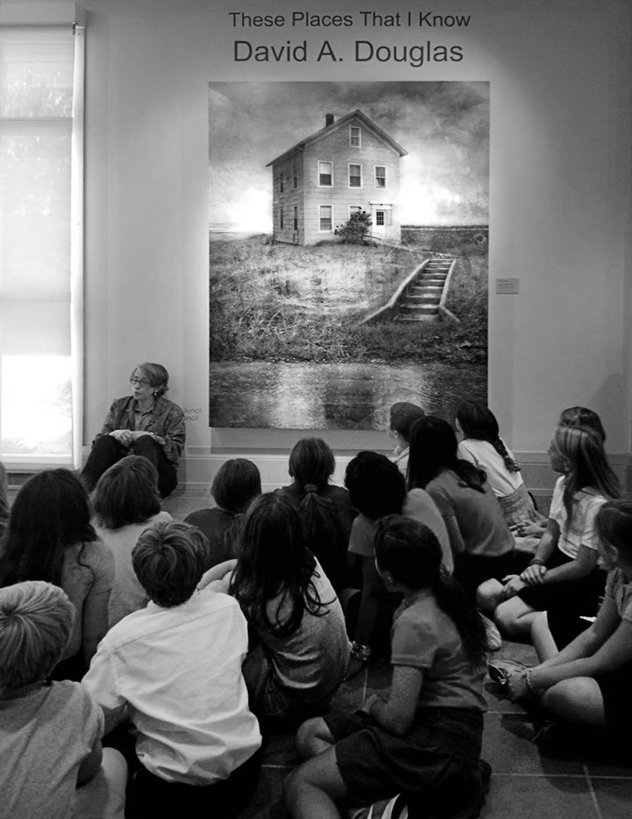 These Places That I Know   (Museum Docent giving talk)  Academy Art Museum 2015