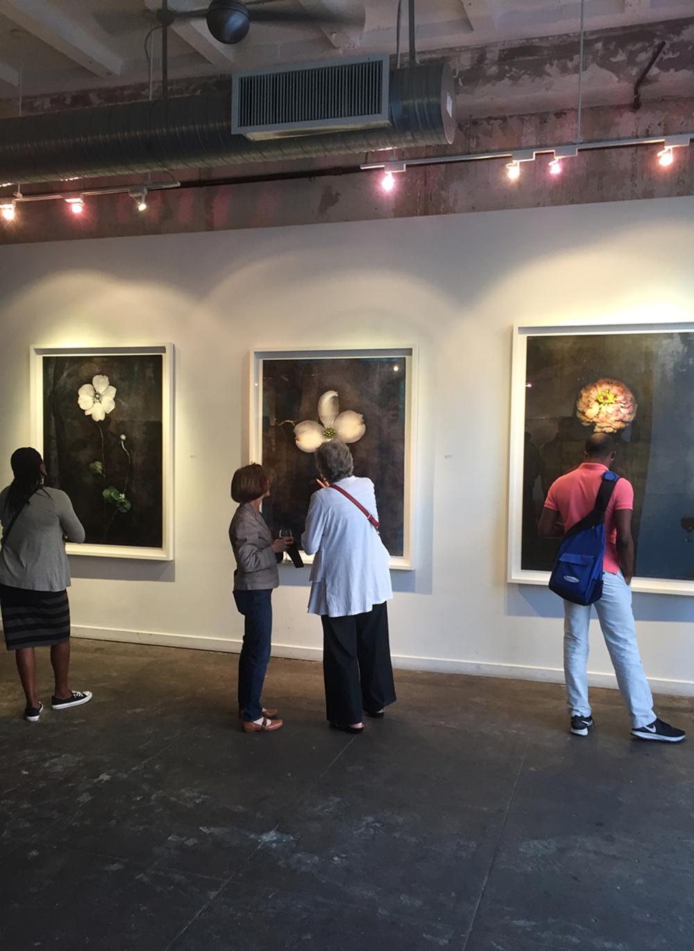 Three Flowers Longview Gallery 2015