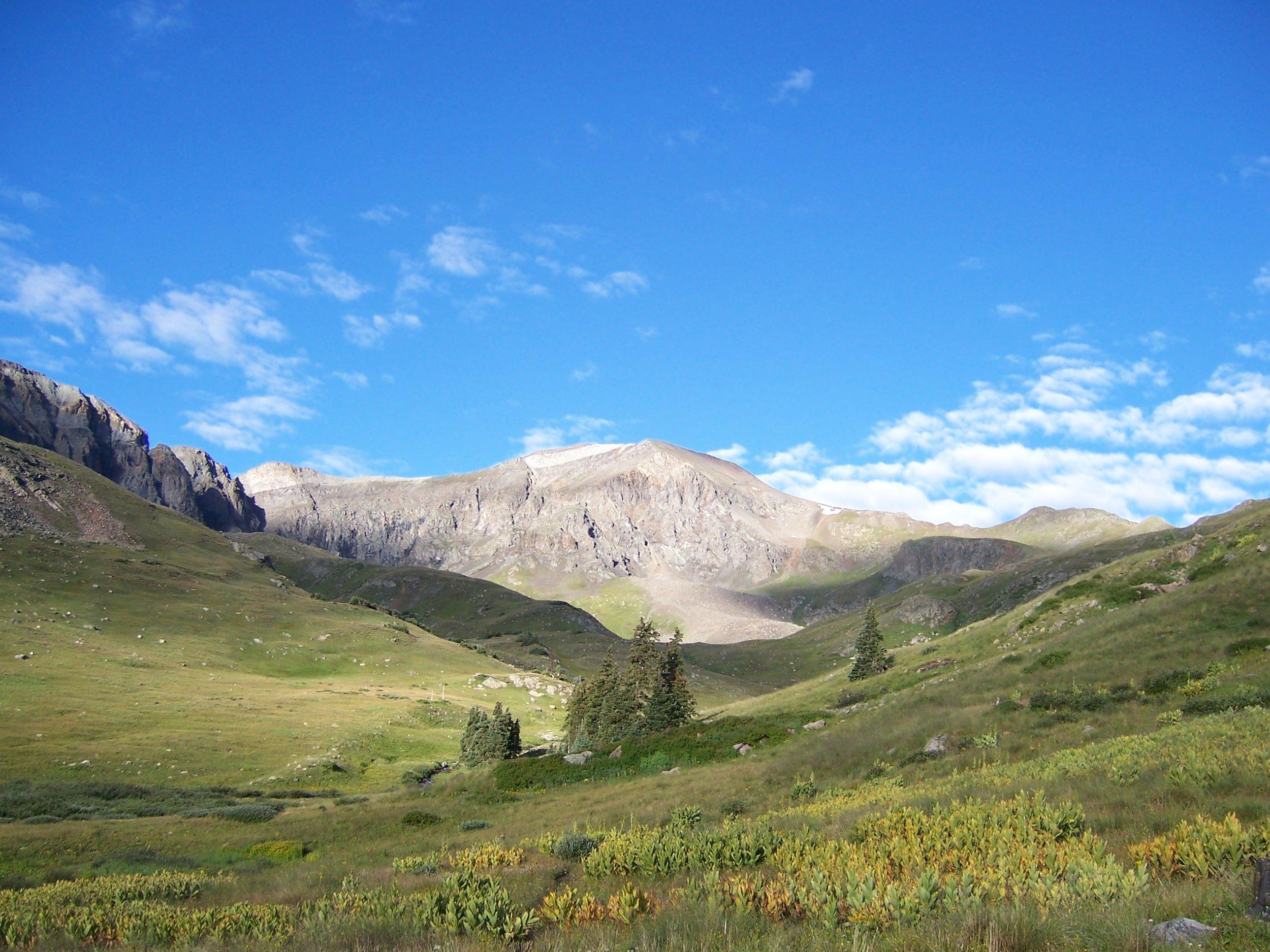 Handies Peak, San Juan Mountains. (Photo by Roy Bradley.)