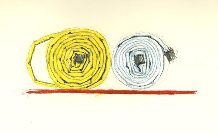 untitled (hoses)