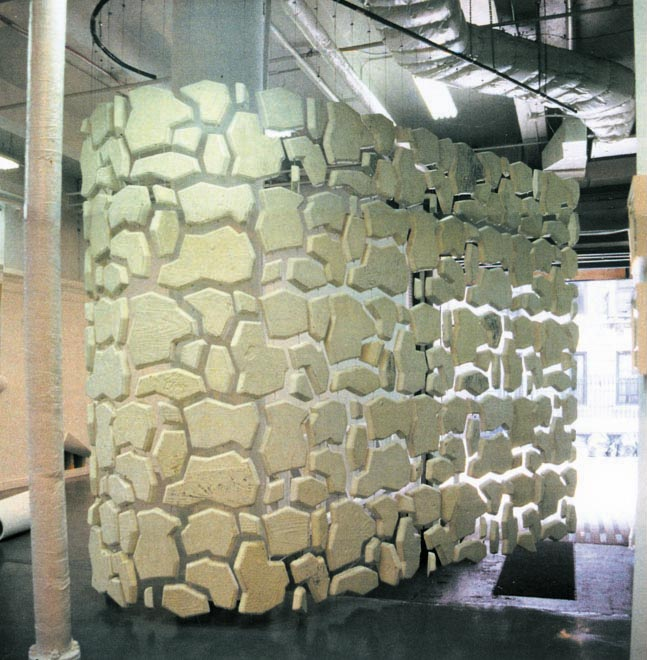 stone curtain wall