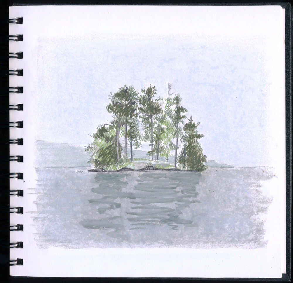 unnamed island near agnes