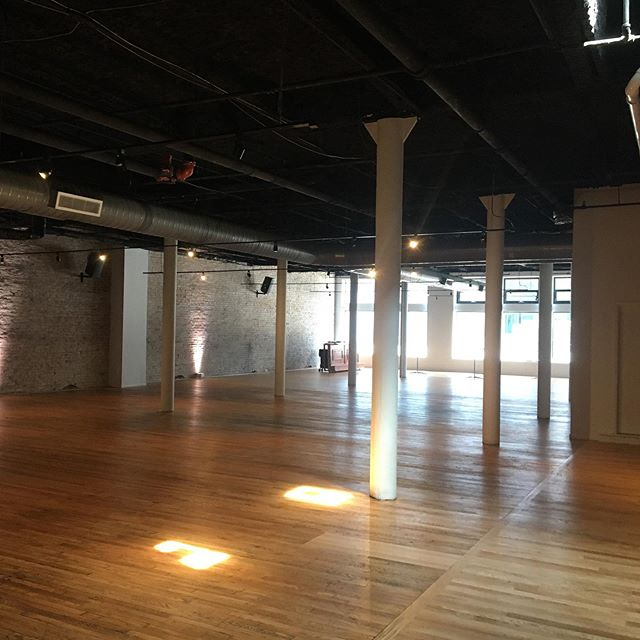 Touring the almost finished @spotonwestfifth Beautiful clean space ready for you to imagine your #corporate event #wedding reception #privateparty and so much more.  #eventproducerforhire  #cincinnatieventplanner
