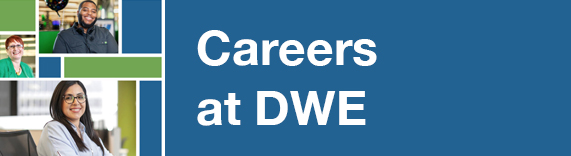 Please visit our careers page to learn more about open positions at DWE.