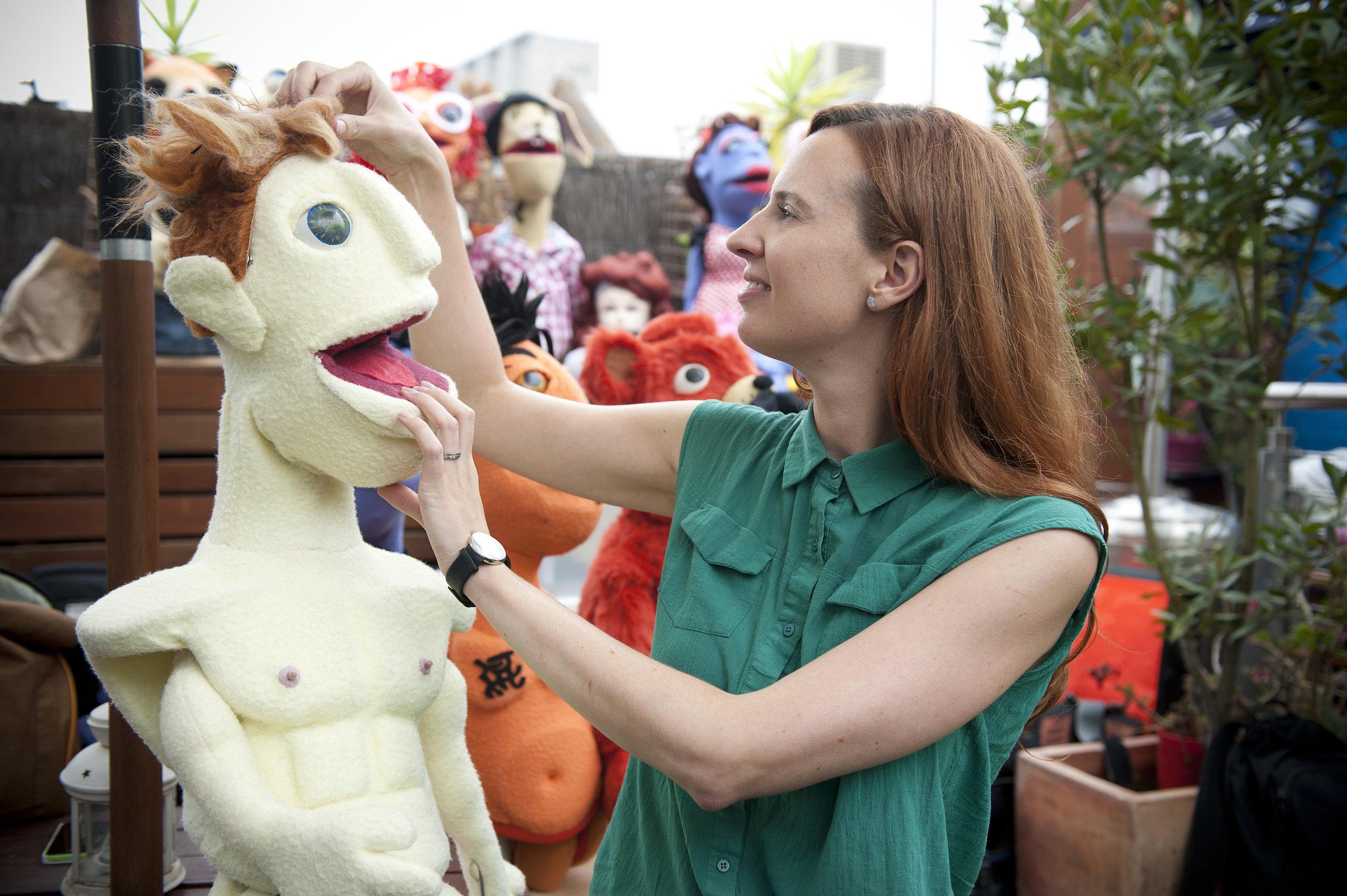 No Strings Attached Emma Director still Puppet.jpg