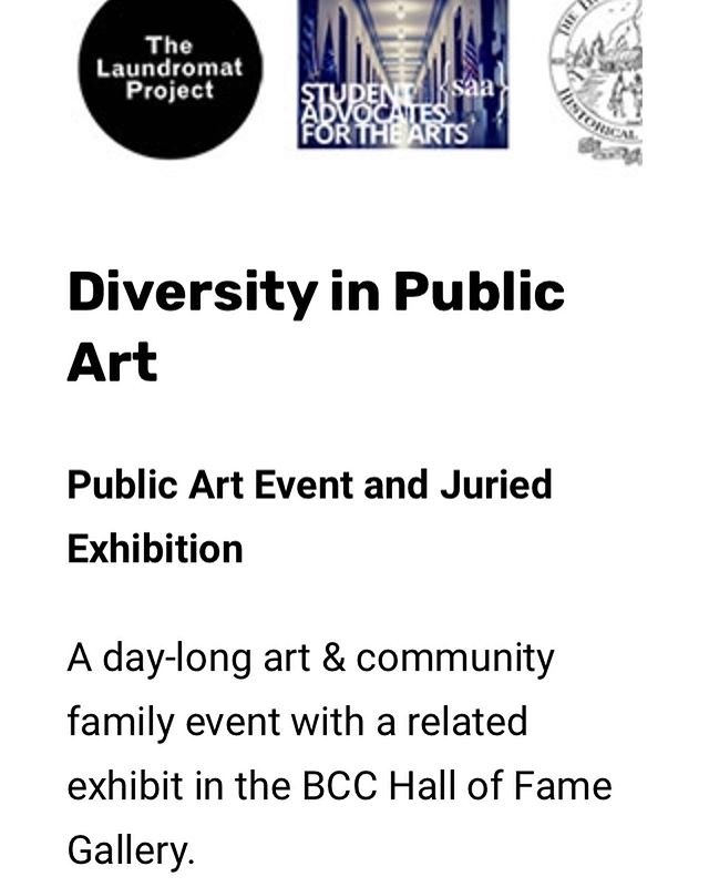we are very excited and honored to be a part of this upcoming event and exhibition at the Bronx Community College! link in bio to learn more about the event & for those of you nearby, please come check it out! event is 9/21/19 and exhibit is open for all of October!