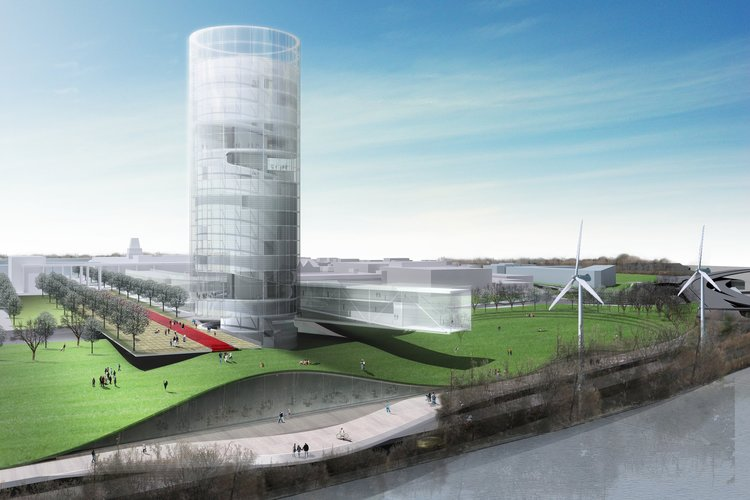 Rutgers University College Avenue Campus Masterplan - New Brunswick, NJ, USA