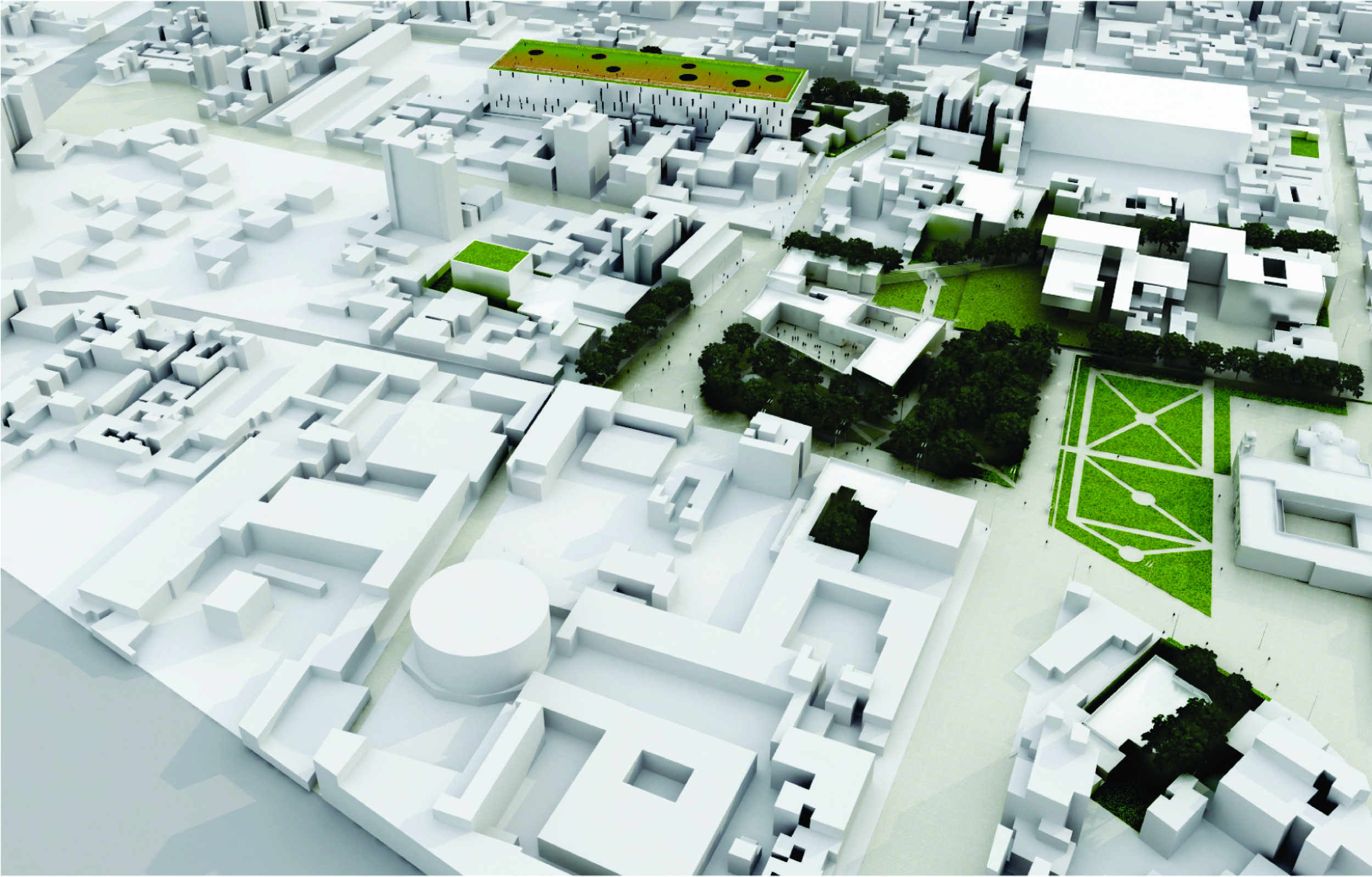 Plan Maestro Universidad Panamericana - Ciudad de México