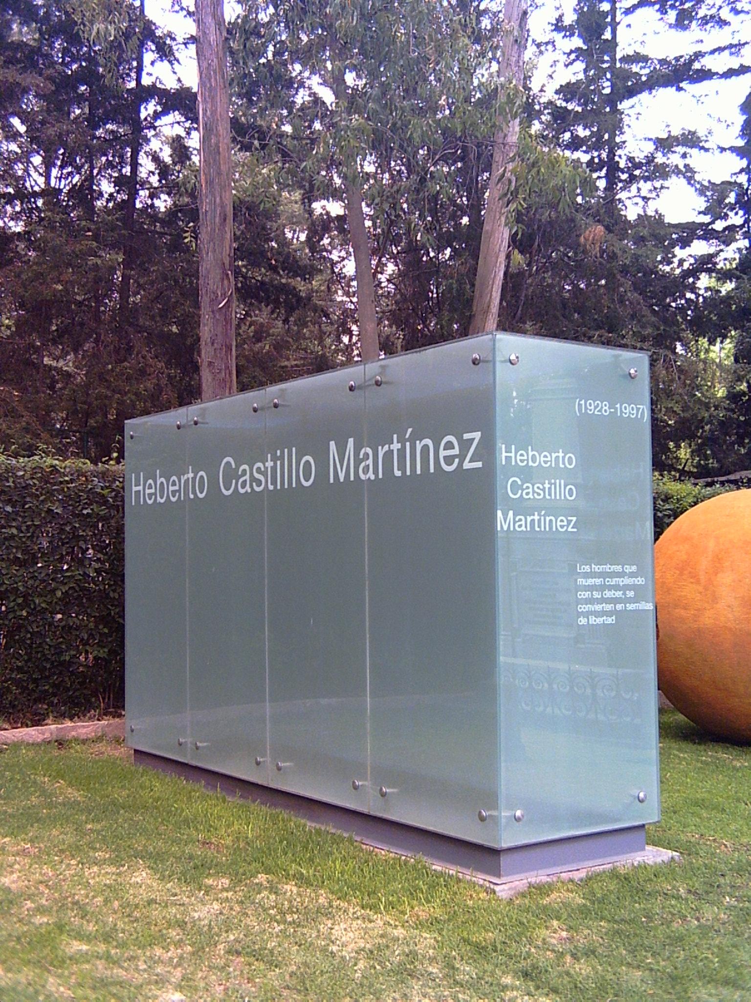 Monumento Funerario a Heberto Castillo  - Ciudad de México