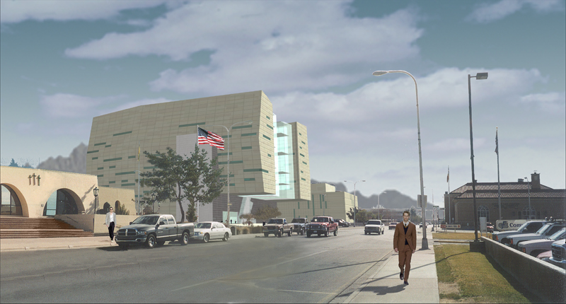 Federal Court Building - Las Cruces, USA