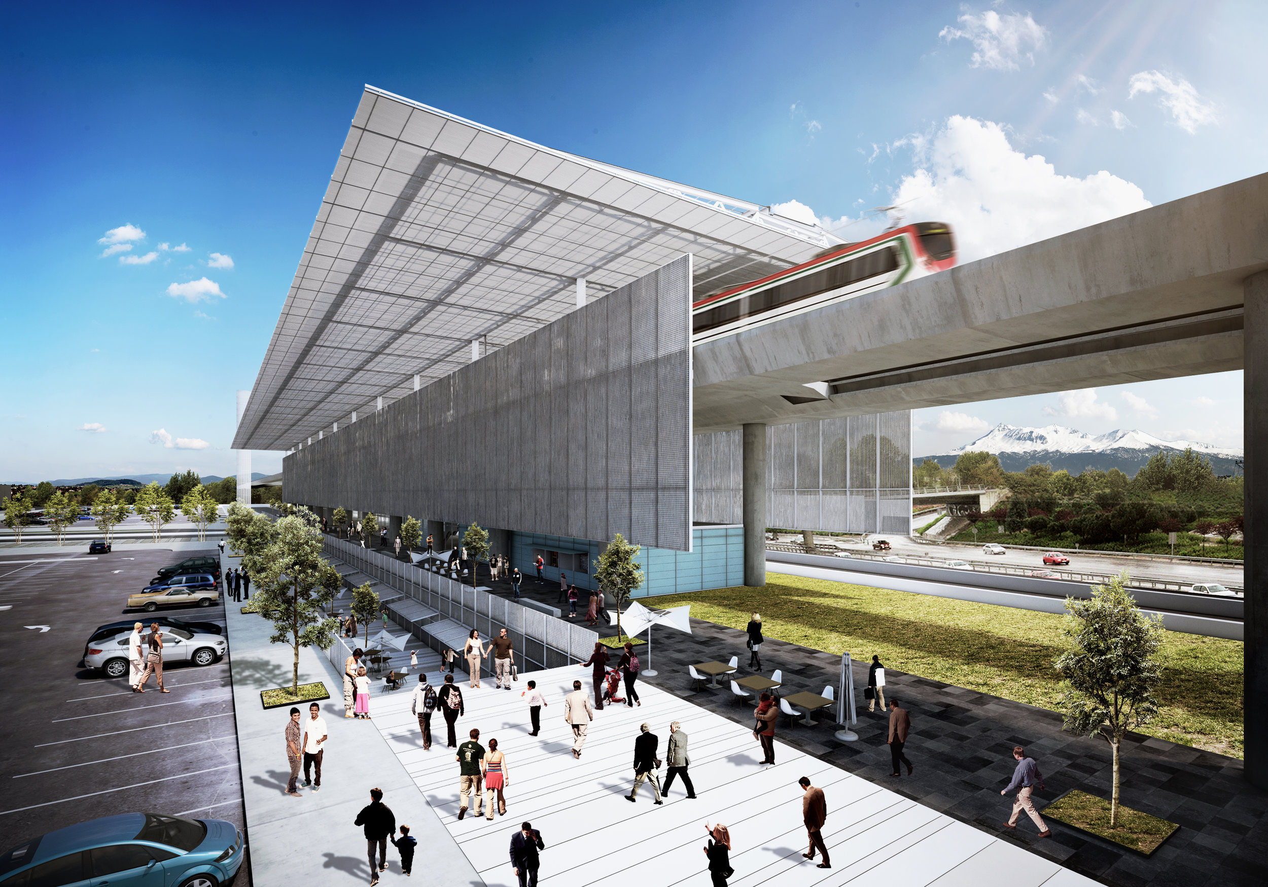 Tren Interurbano / Estación Zinacantepec - Estado de México