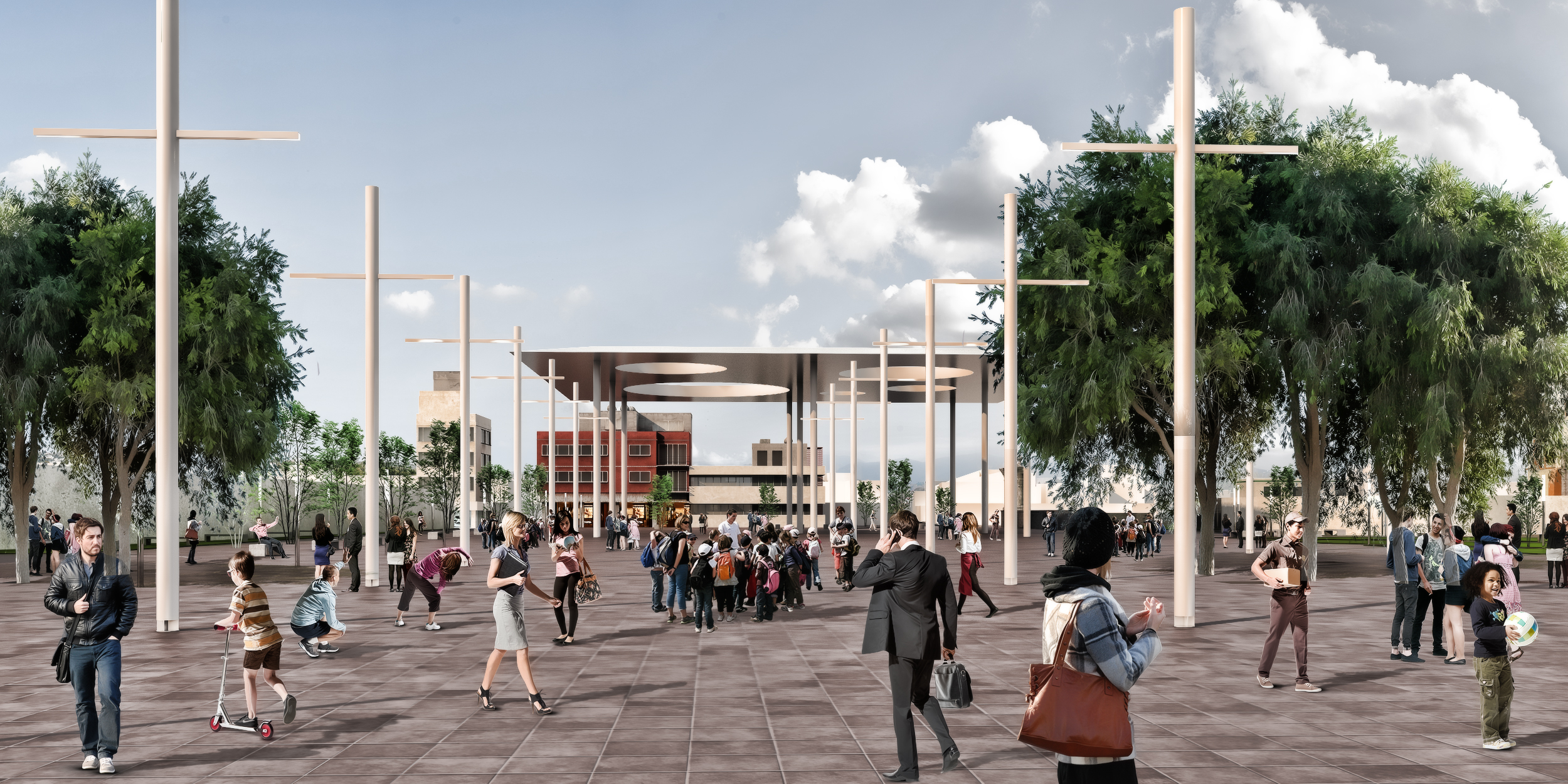 Plaza Delegación Iztapalapa - Ciudad de México
