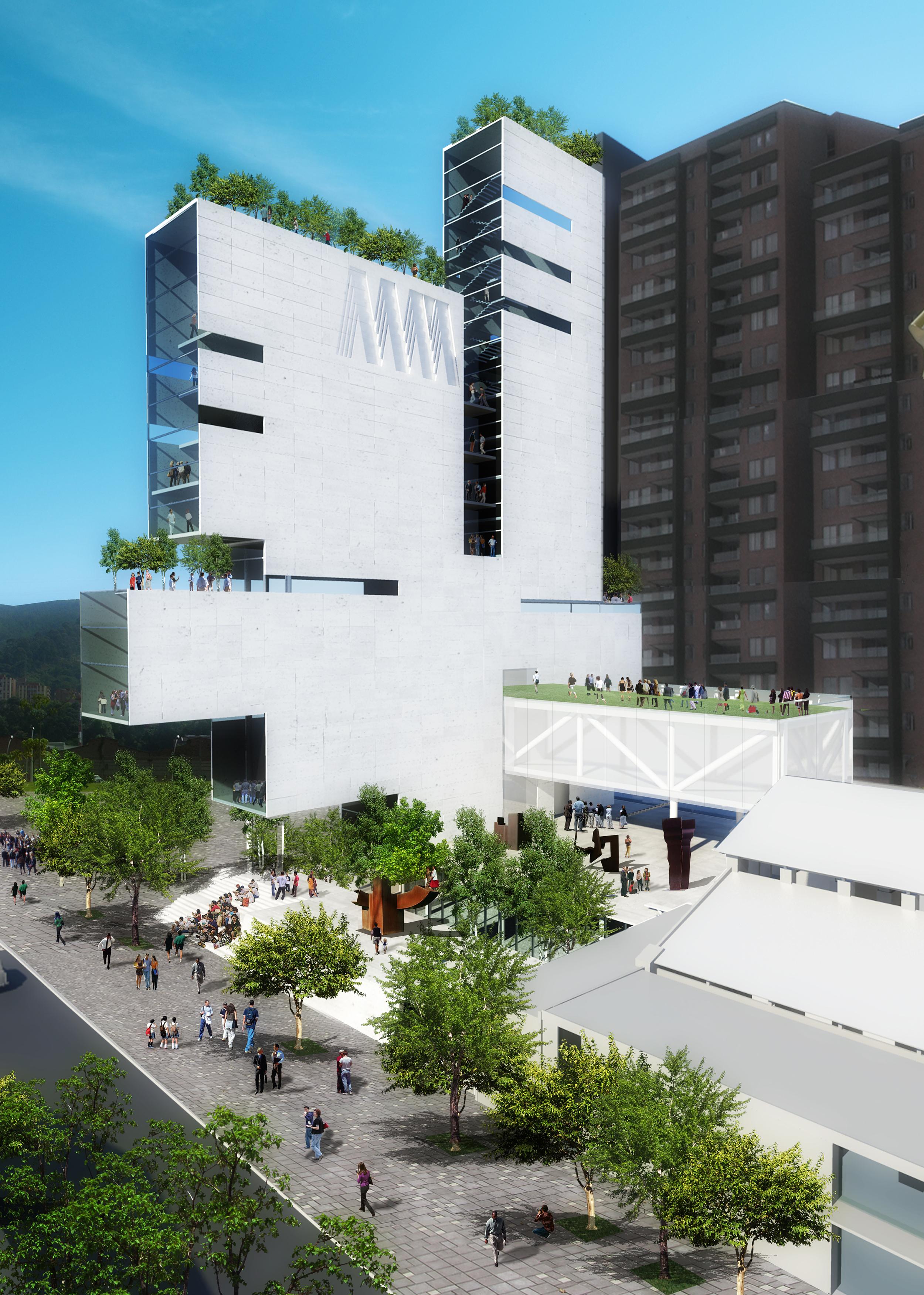 Museo de Arte Modeno de Medellín - Colombia