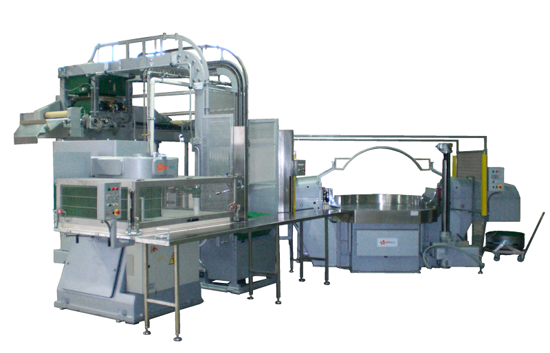 Laminating and Forming Line Feeding -