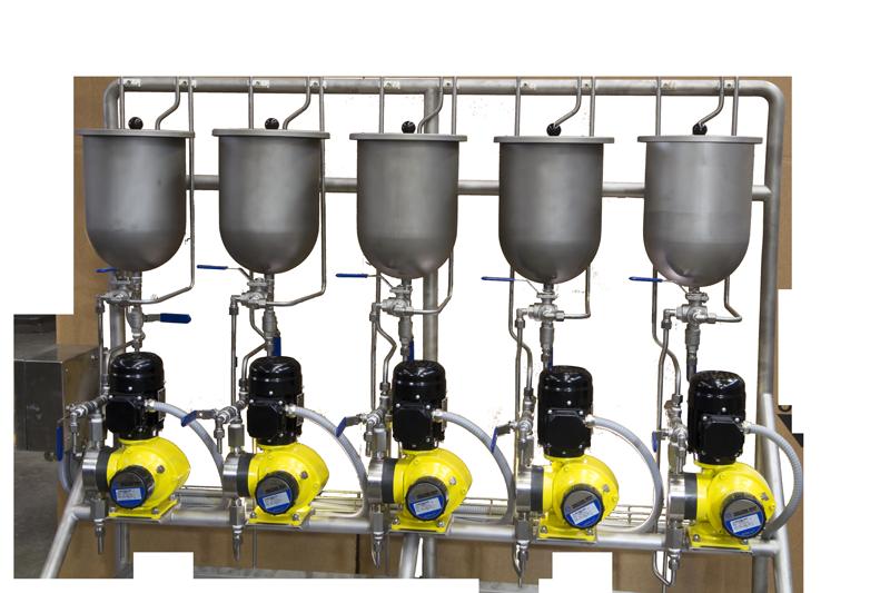 Dosing Pumps for Liquid Flavors -