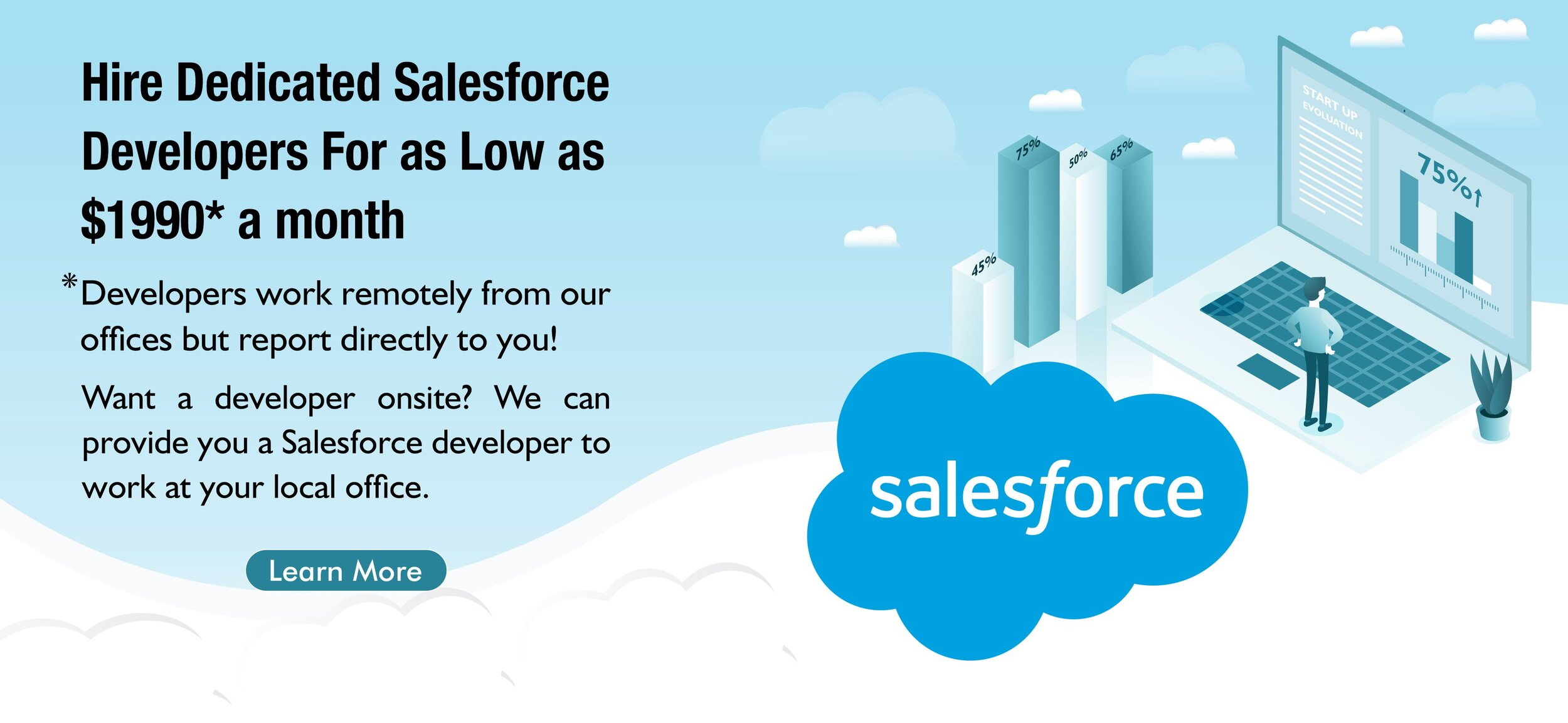 Hire Salesforce Developer With Global Employees