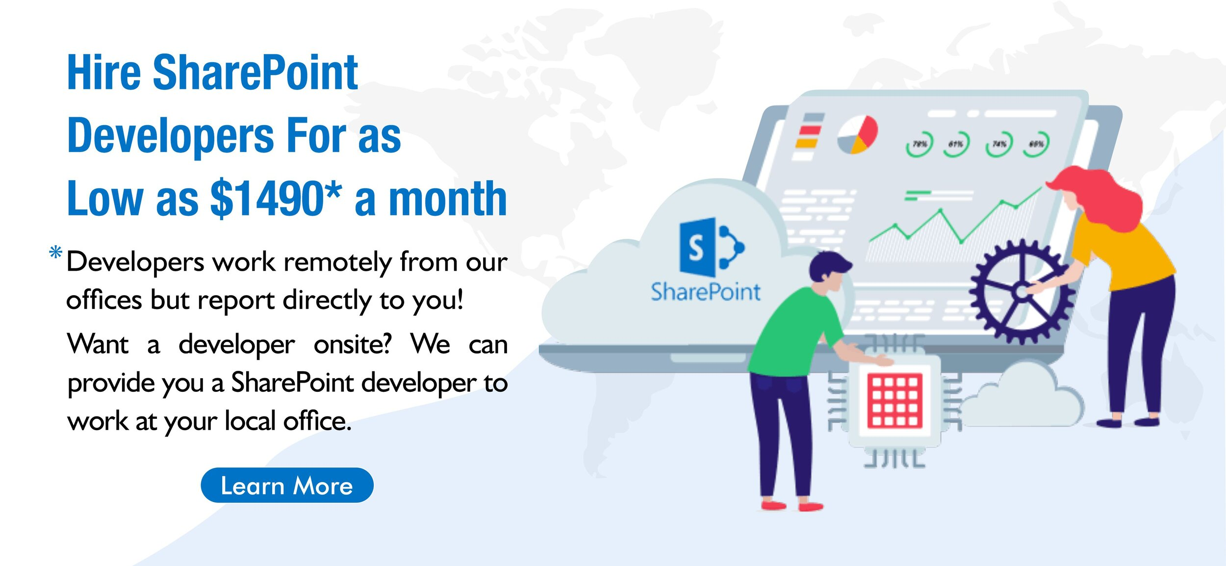 Hire SharePoint Developer With Global Employees