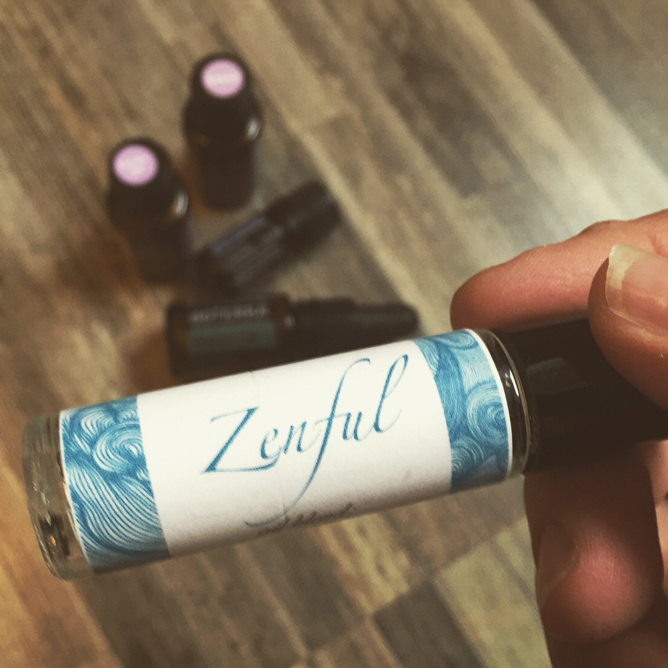Zenful Essential Oil Rollerbottle blend, doterra, HOO Happiness Blog