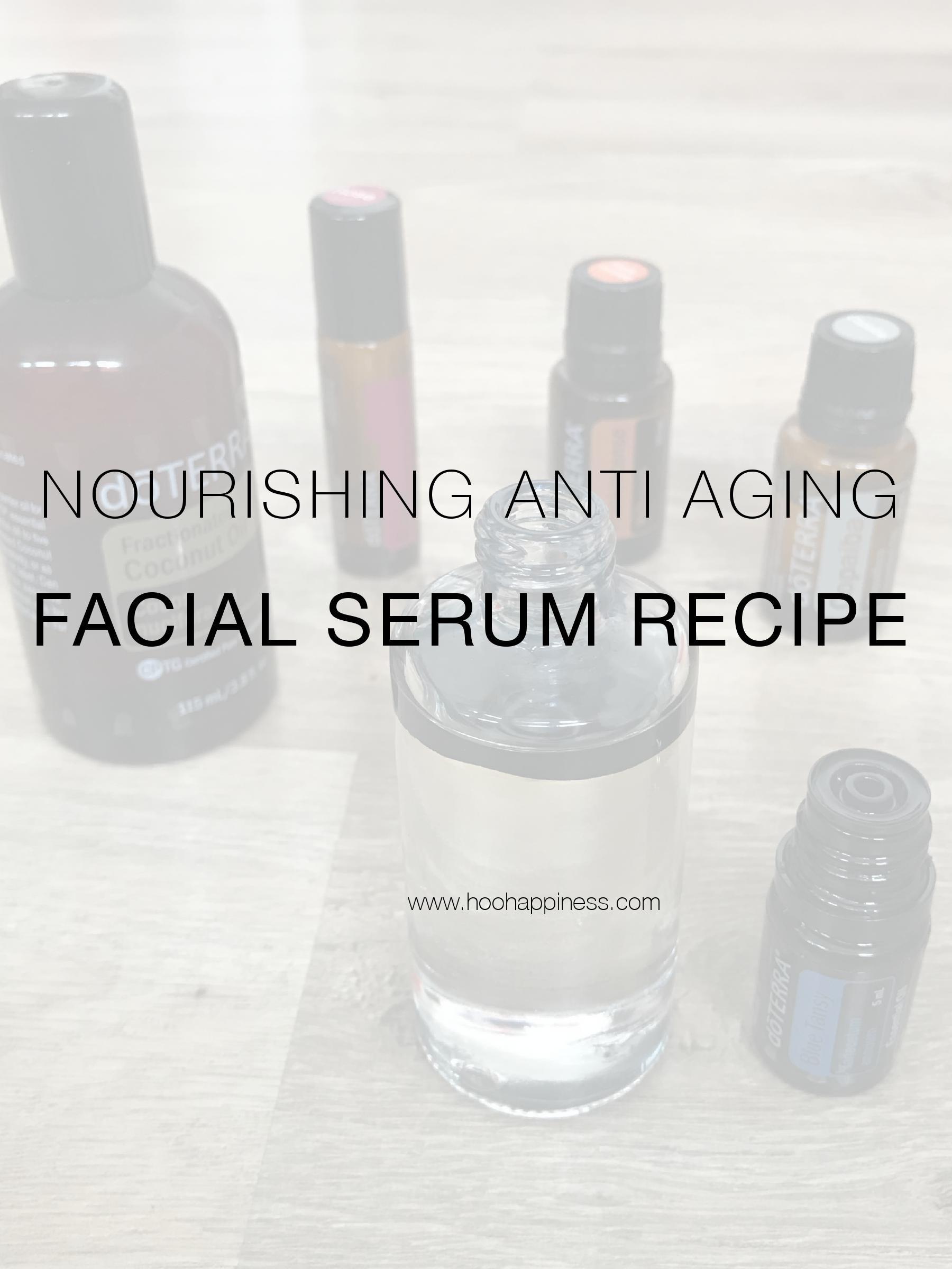Nourishing Anti-Aging Facial Serum