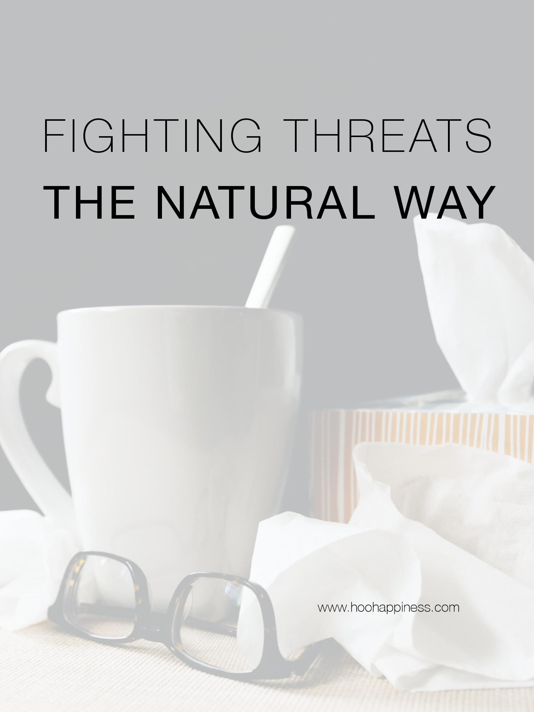 Fighting winter threats naturally