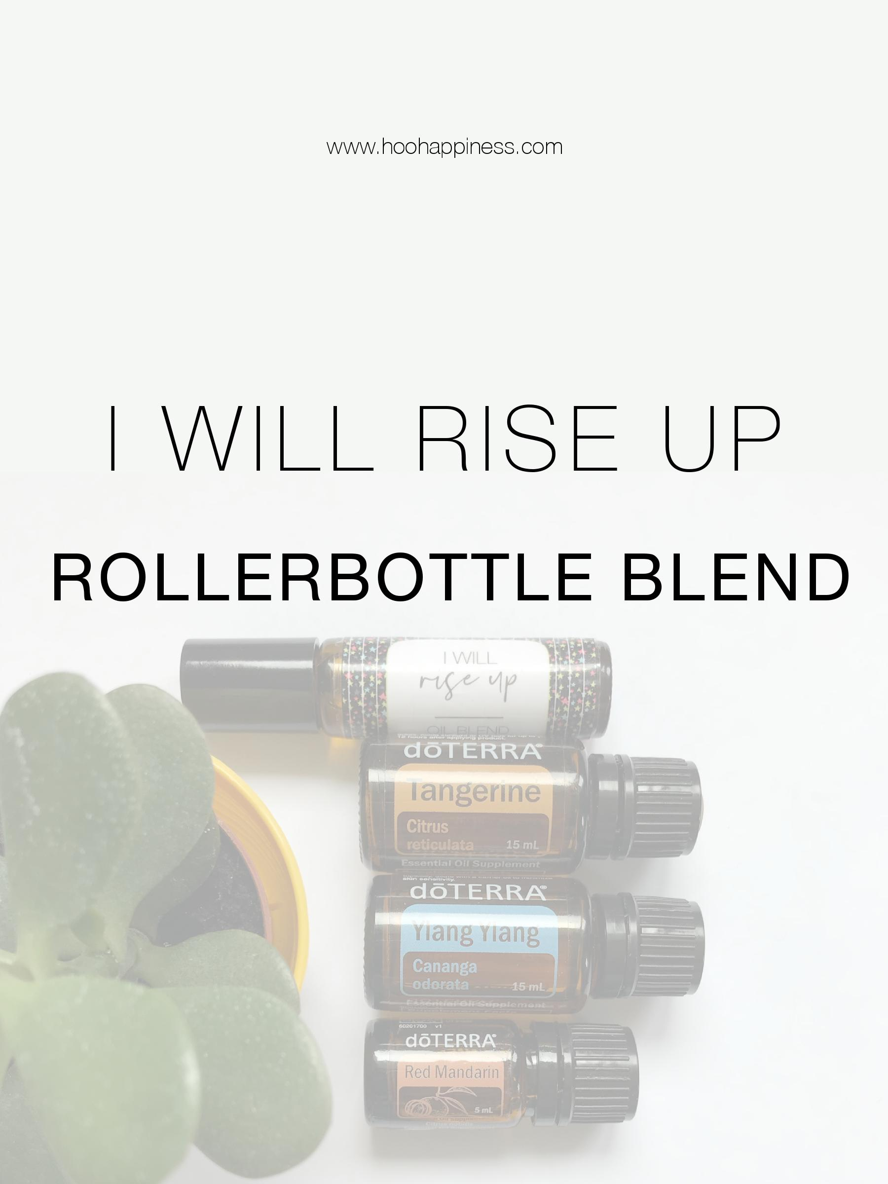I will rise up 10ml RollerBottle Essential Oil Blend dōTERRA