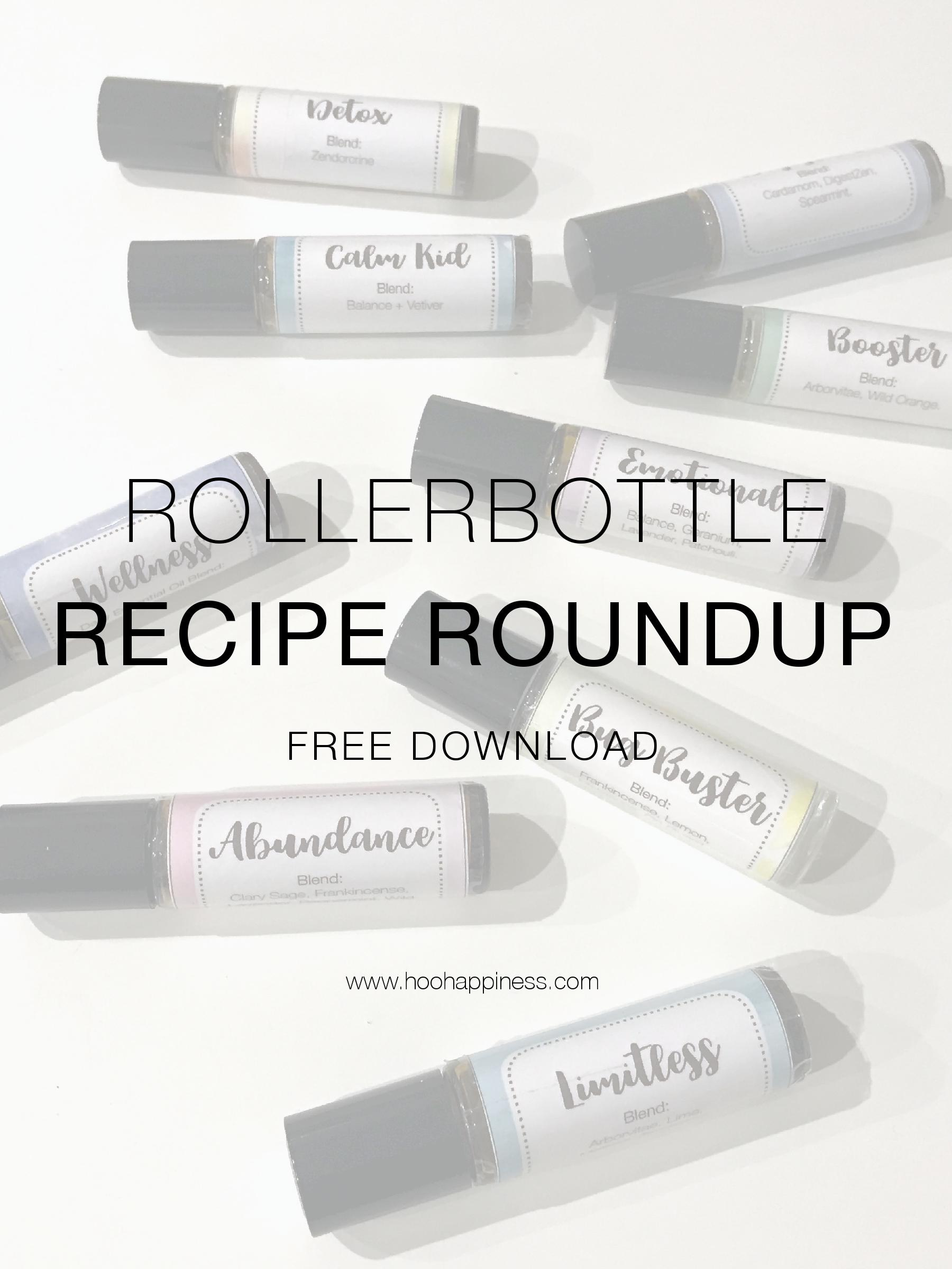 Rollerbottle Recipe Roundup (Free Download)