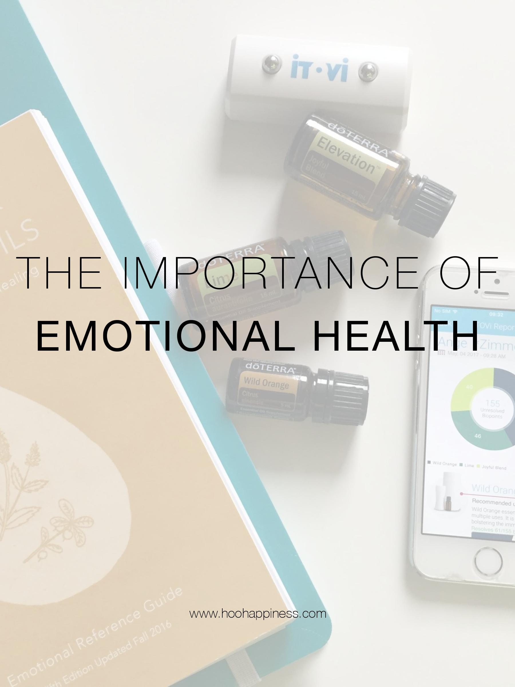 The Importance of Emotional Health, HOO Happiness Blog