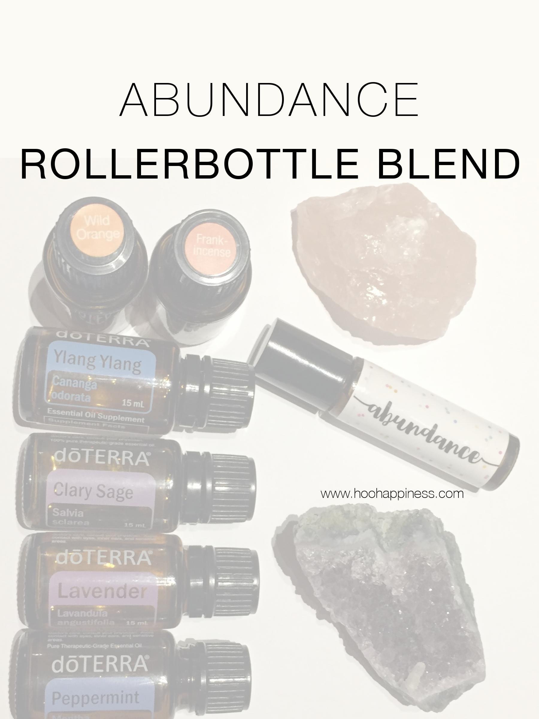 Abundance Rollerbottle Blend + Affirmation