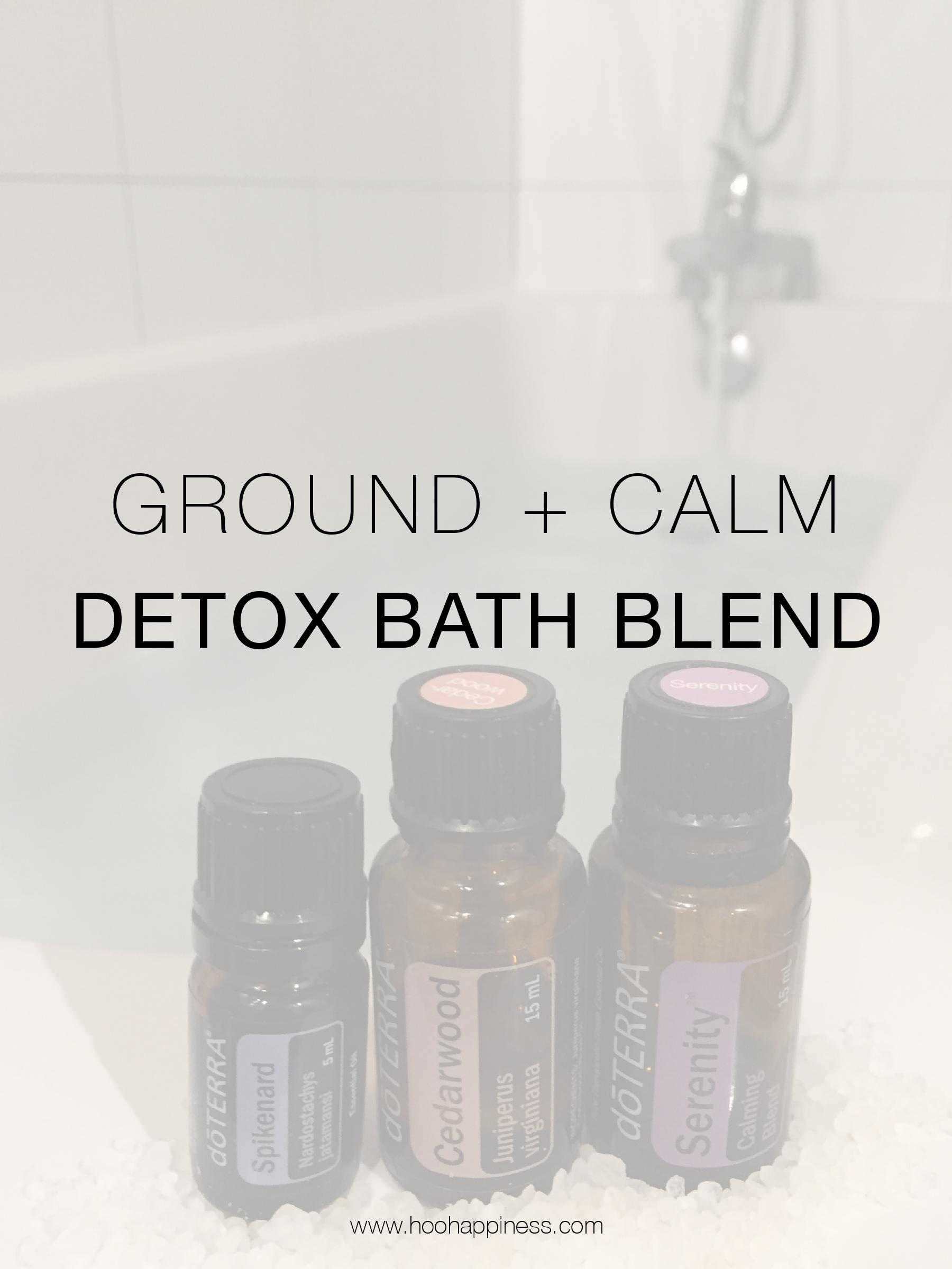 Calming & Grounding Detox Bath