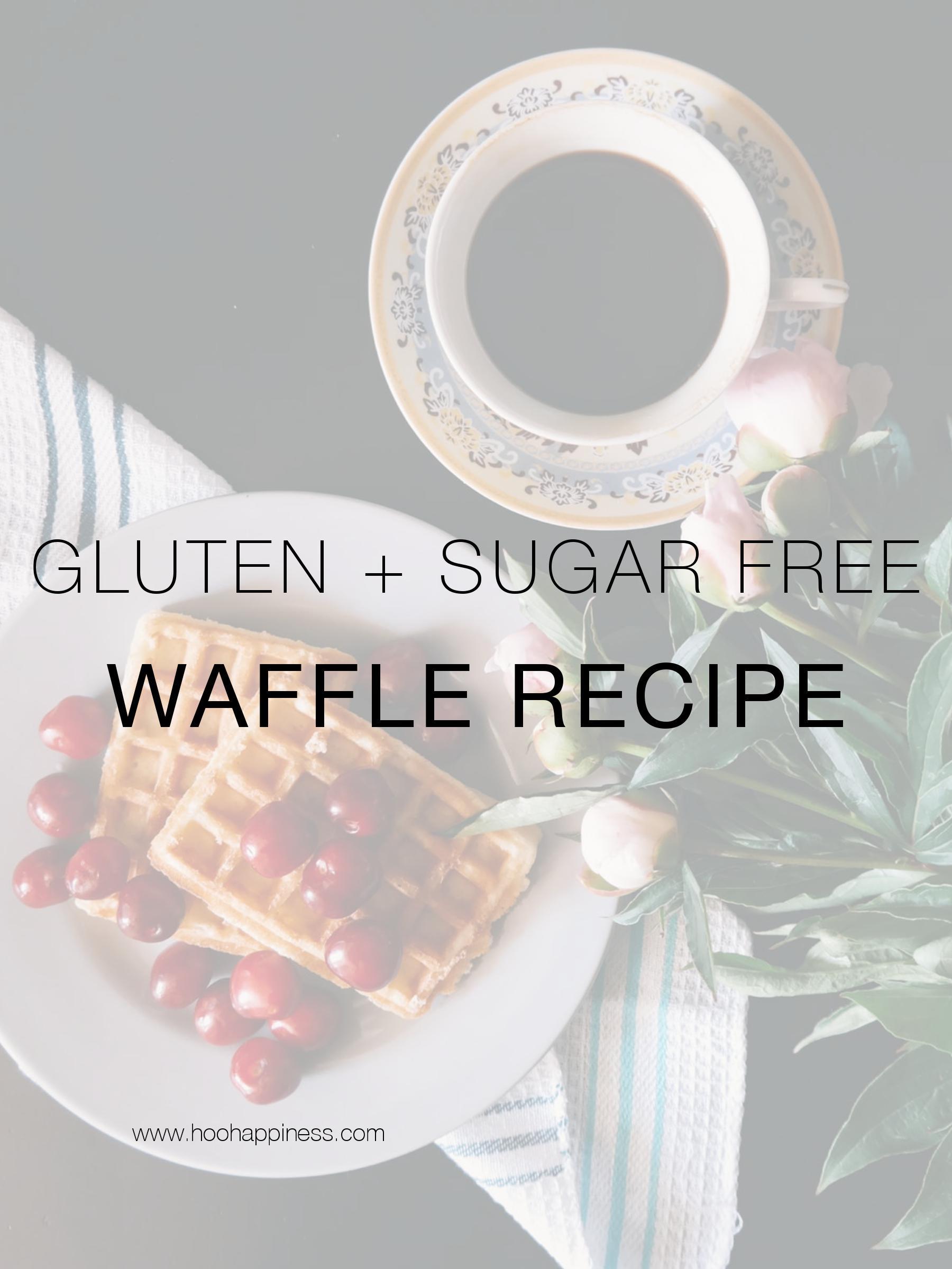 Healthy Gluten Free Waffles