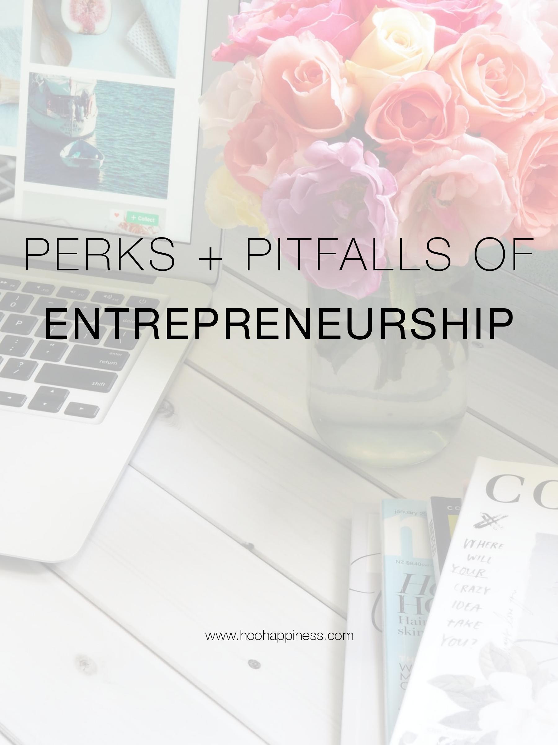 Perks & Pitfalls of Being an Entrepreneur