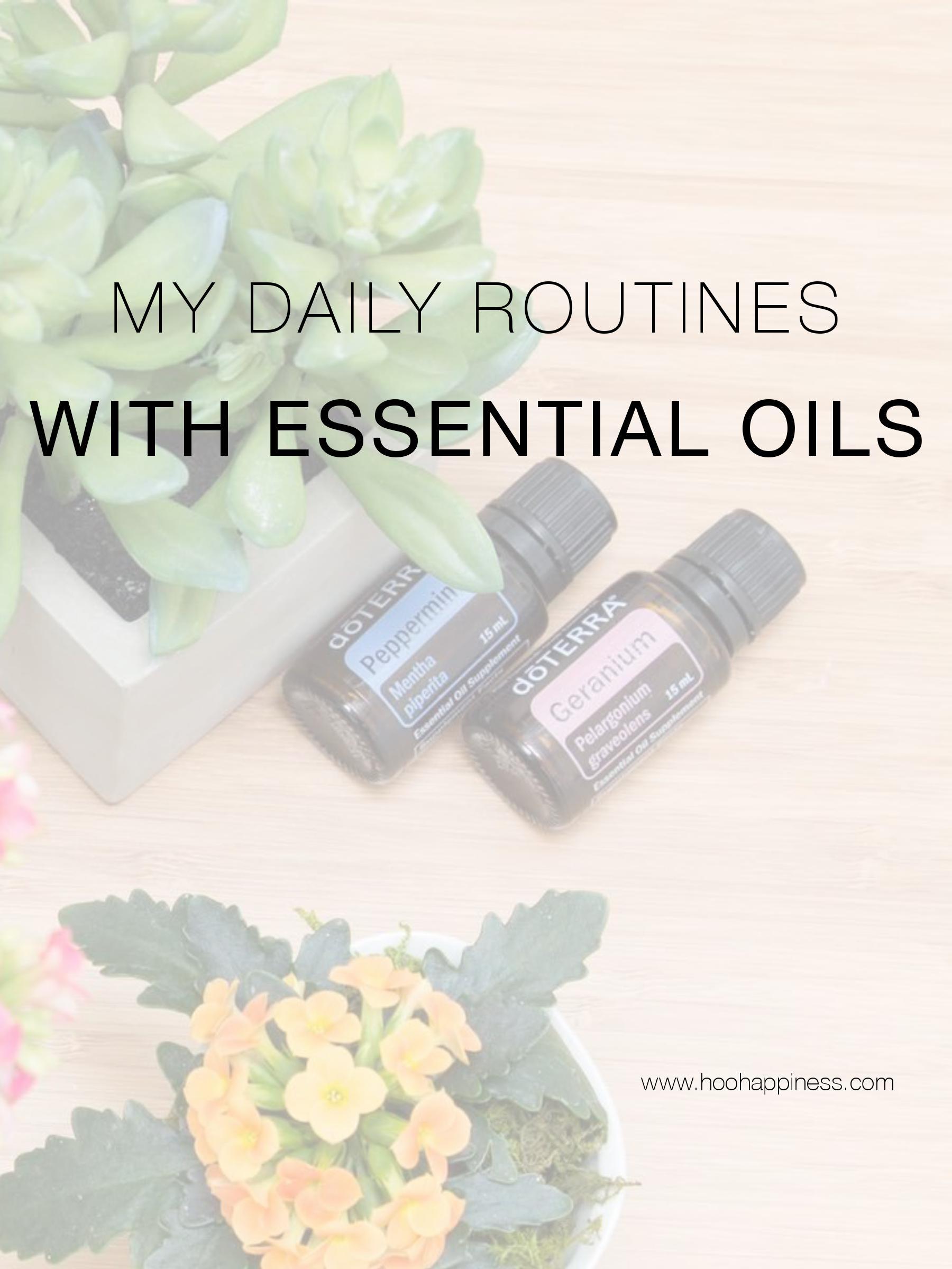 My Daily Routine using dōTERRA Essential Oils