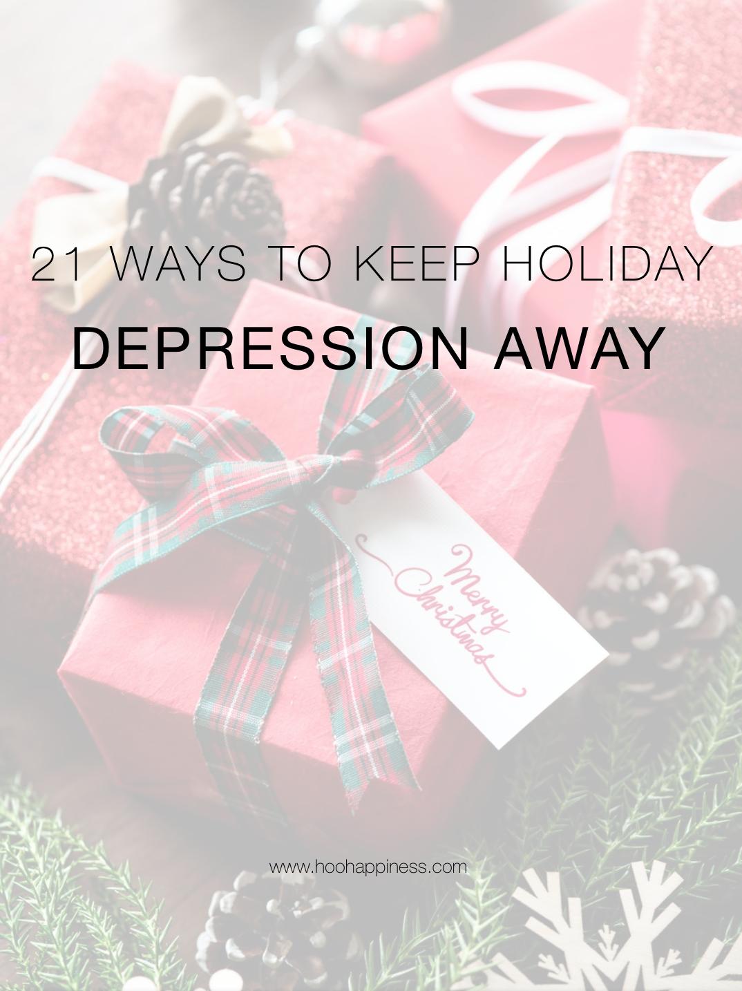 21 Ways to Keep Depression Away
