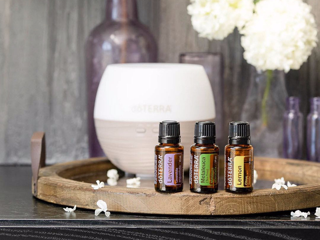 Aromatic Usage and Diffusion with dōTERRA Essential Oils