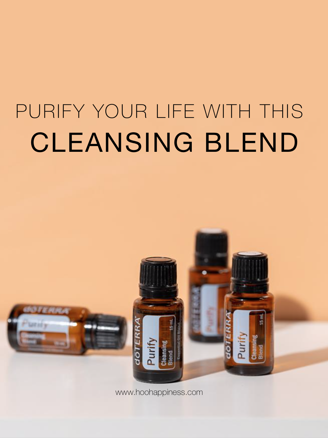 Purify your life with this cleansing blend, doterra essential oils, Bogo blog