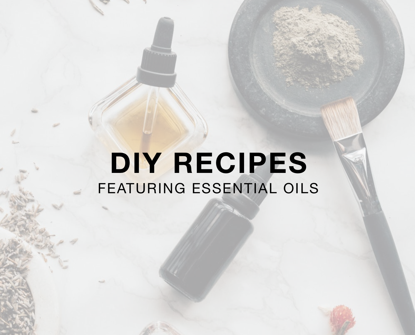 Simple + Easy Do-It-Yourself DIY Recipes Featuring dōTERRA Essential Oils