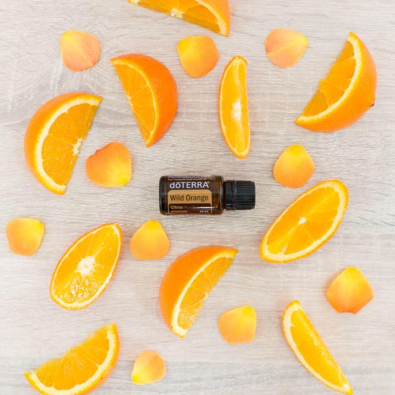 Say hello to Energy, joy + abundance with Wild Orange Essential Oil, dōTERRA, HOO Happiness