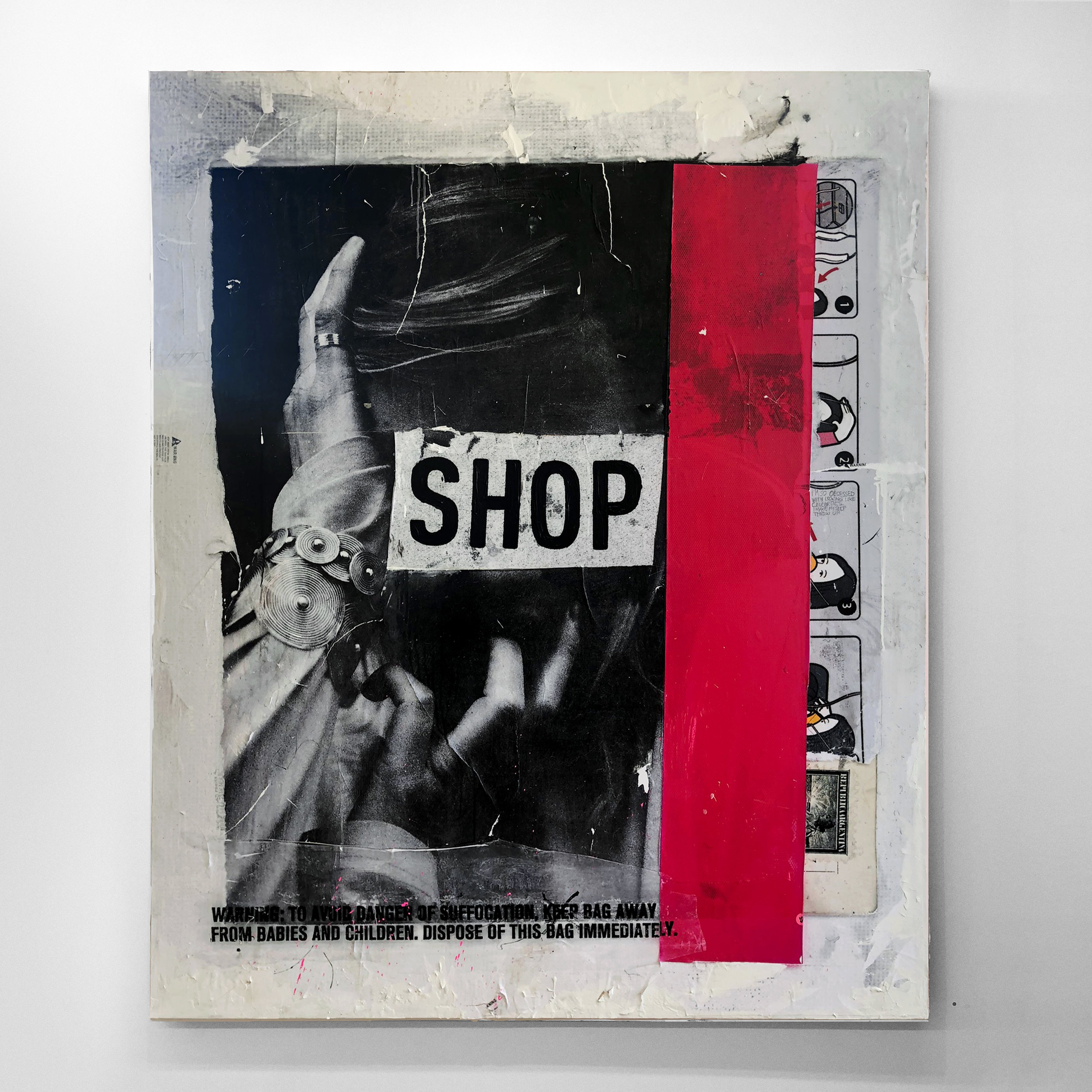 """SHOP"" (2018) by Joaquin Salim."