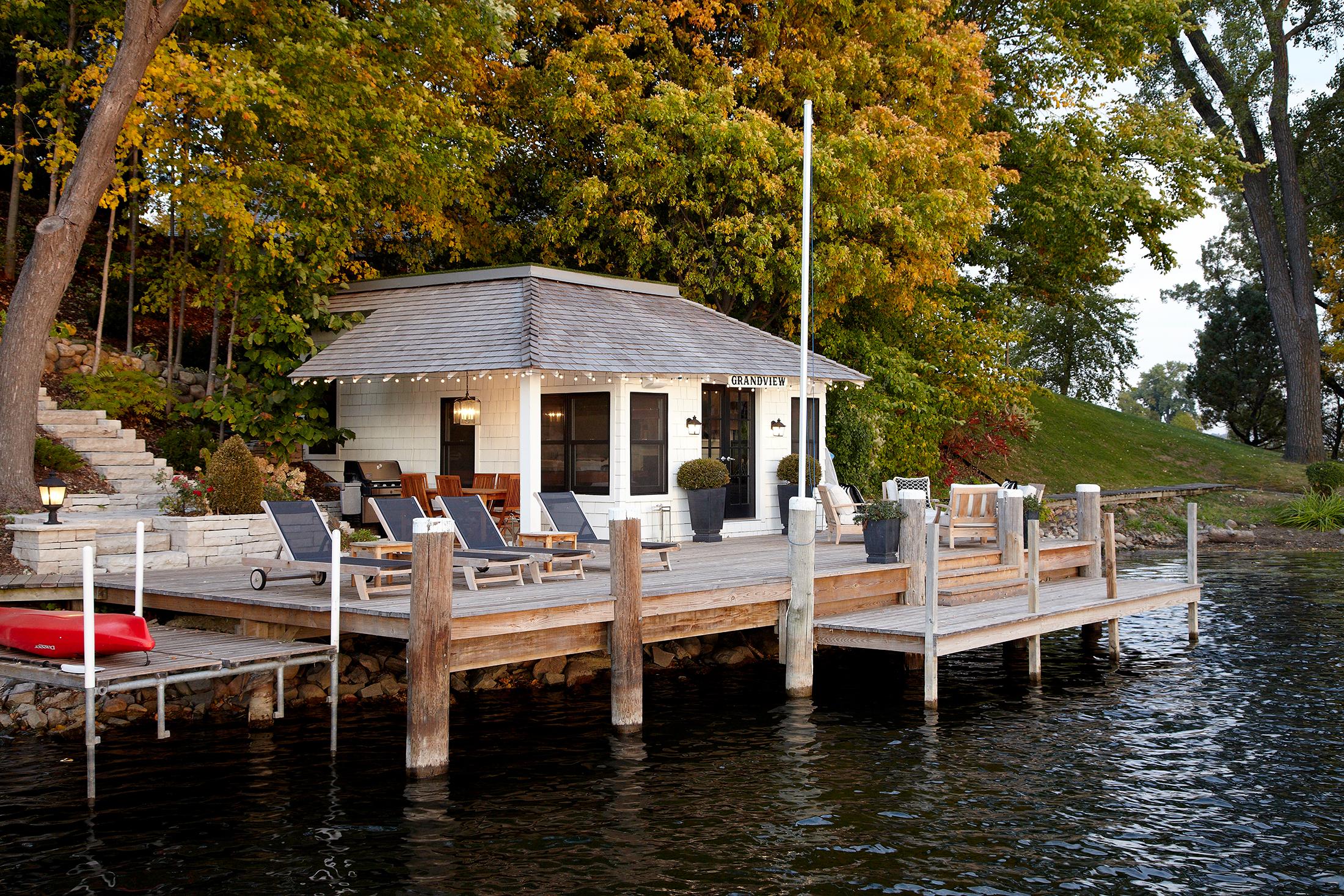 Grandview Boathouse - LAKE MINNETONKA
