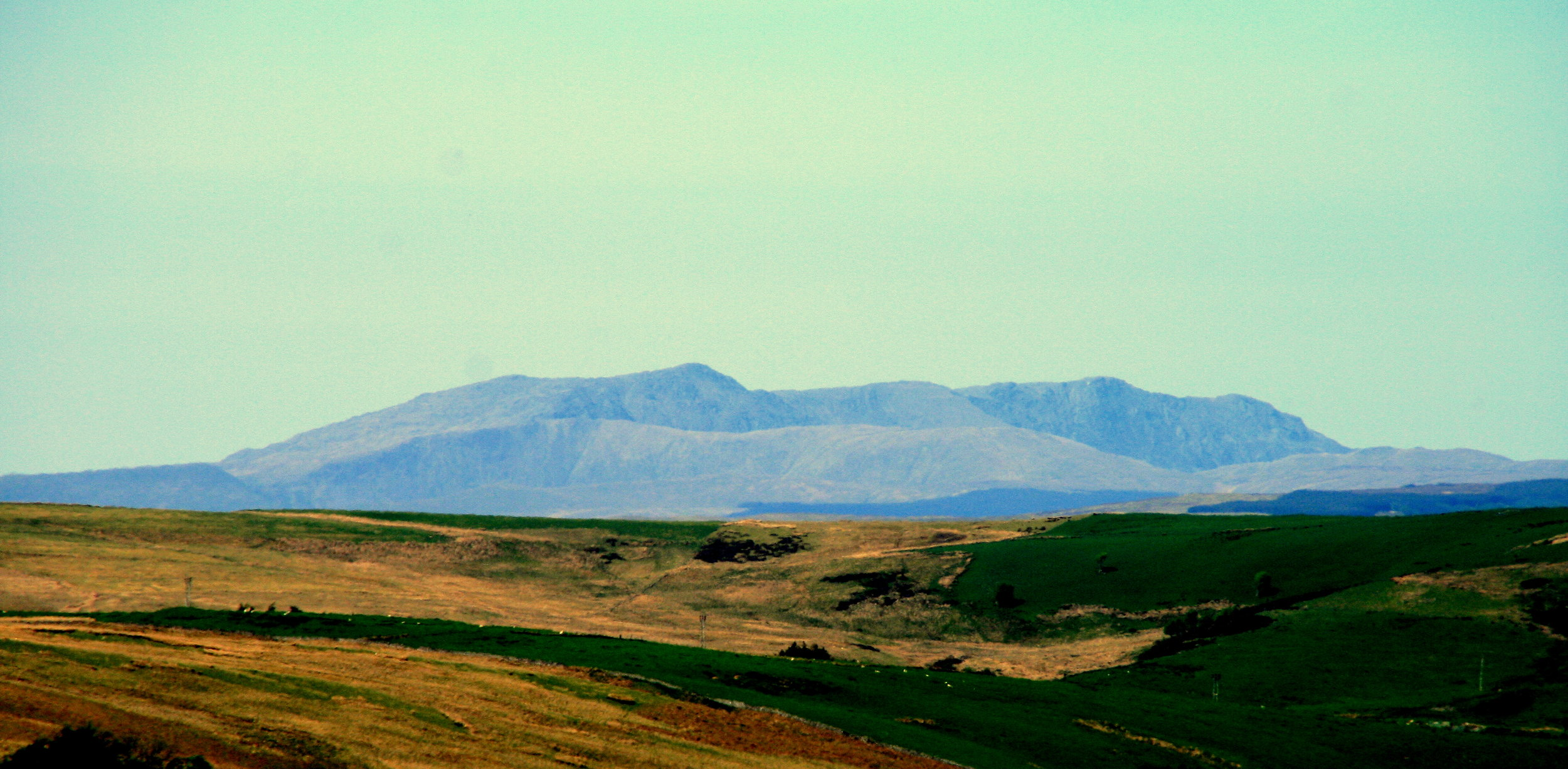 Cader Idris, viewed from the south