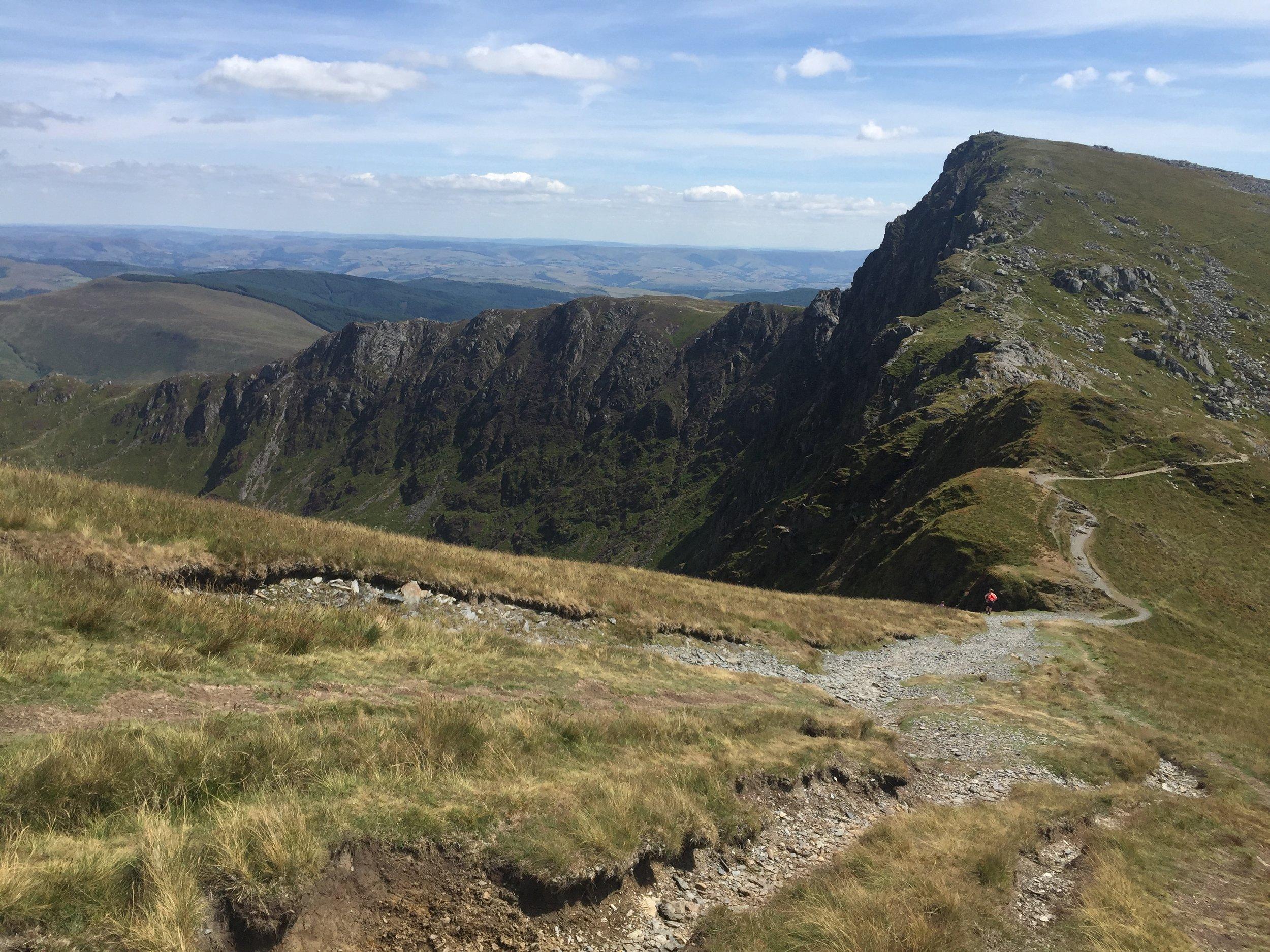 Near the summit of Cader Idris